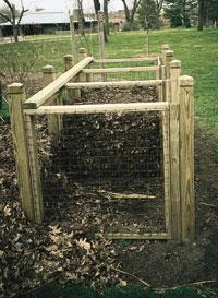 Triple bin - composting