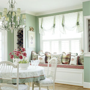 mint green room
