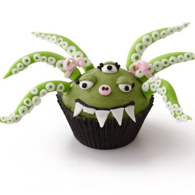 Green Monster Cupcake
