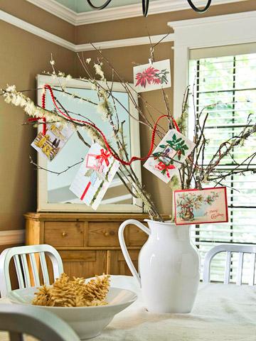 Tree of Christmas Cards