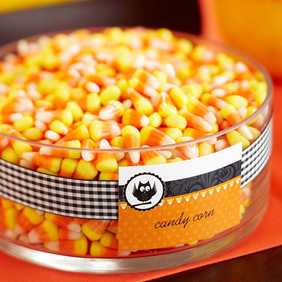 Candy Corn Display