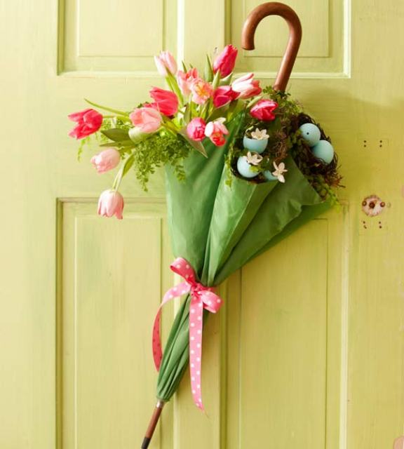 Springtime Door Decoration