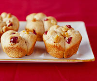 Cranberry-Walnut Whole Wheat Rolls