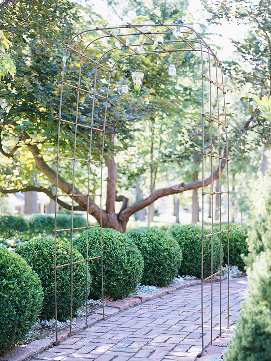 Make a Metal Arbor