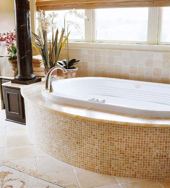 Change The Color Of A Marble Whirlpool Tub Better Homes And Gardens