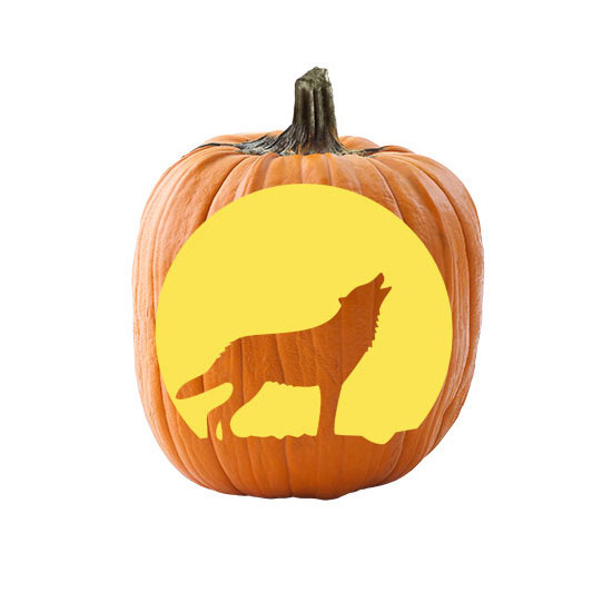 Wolf Face Pumpkin Carving Patterns The Best Wolf 2018