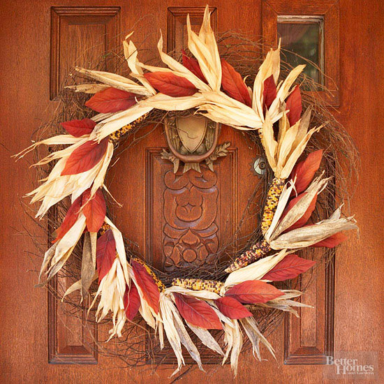 Indian Corn Fall Wreath