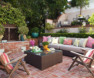 Patios  Design Ideas  Pictures and Makeovers 8 Tips for Choosing Patio Furniture