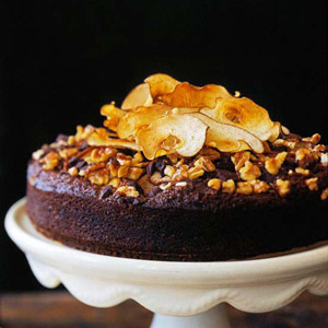 Chocolate Pear Spice Cake
