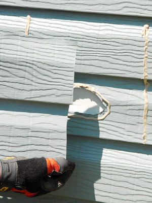 Repairing Aluminum Siding How To Repair Siding DIY Advice