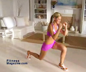 Explosive Lunges