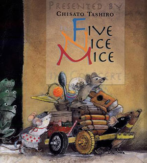 Five Nice Mice by Chisato Tashiro