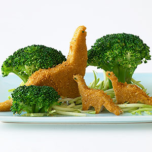 chicken nugget dinosaurs