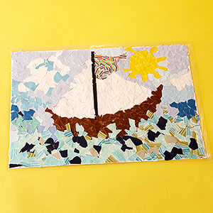 Paper Mosaic Placemats