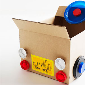 Repurpose Cardboard Boxes Into Kid Crafts Toys
