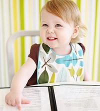 baby at restaurant
