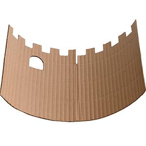 cardboard pinata tower