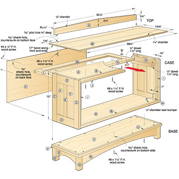 bookcase barrister plans