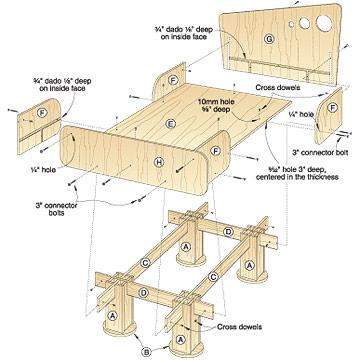 Pdf Knockdown Furniture Plans Diy Free Plans Download