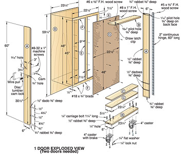 Woodwork Wood Tool Cabinets Plans PDF Plans