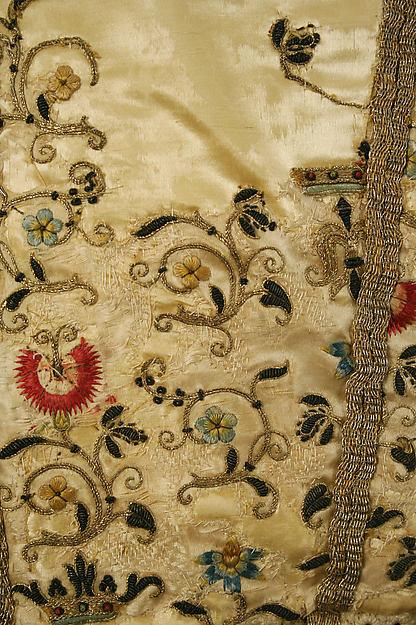 Doublet, silk, European, Eastern