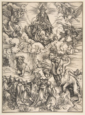 Albrecht Dürer | The Beast with the Seven Heads and the Beast with Lamb's  Horns | The Metropolitan Museum of Art