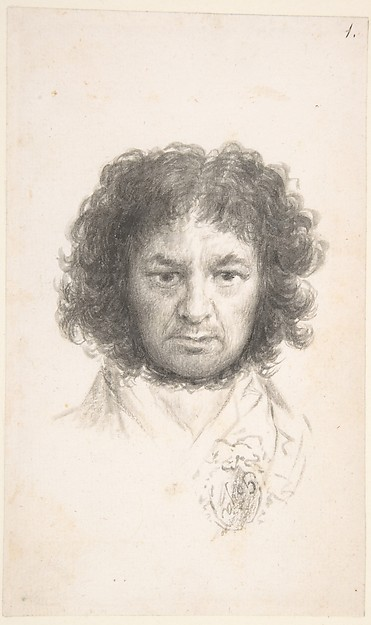 Image result for francisco goya self portrait