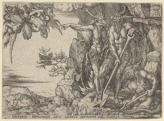 The Rich Man Transported to Hell, from The Parable of the Rich Man and Lazarus