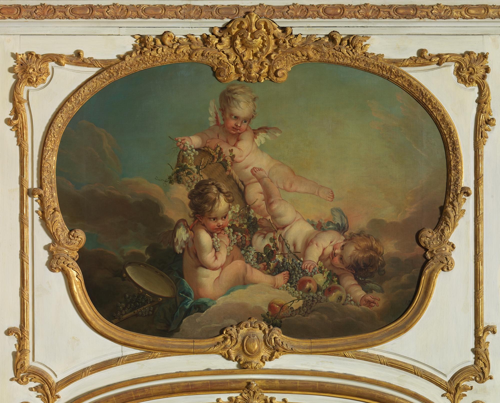 Fran 231 Ois Boucher Allegory Of Autumn The Met