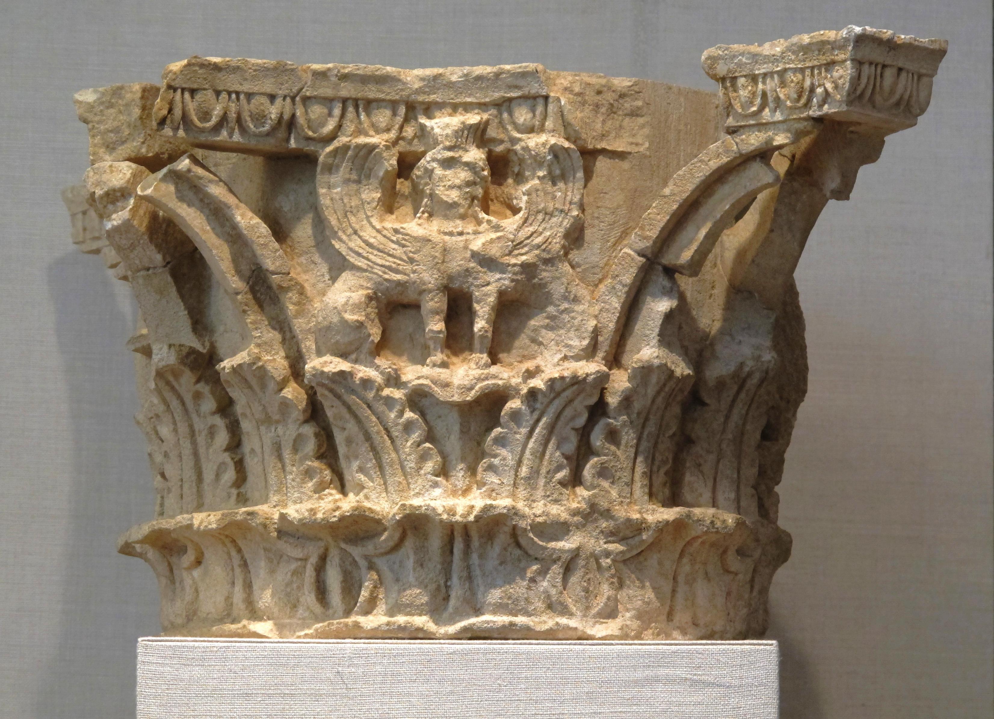 Corinthian Column Capital