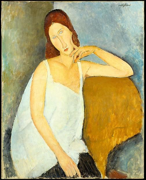 Jeanne Hébuterne, Amedeo Modigliani, 1919