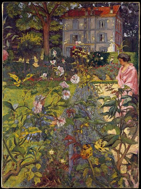 Garden at Vaucresson by Edouard Vuillard