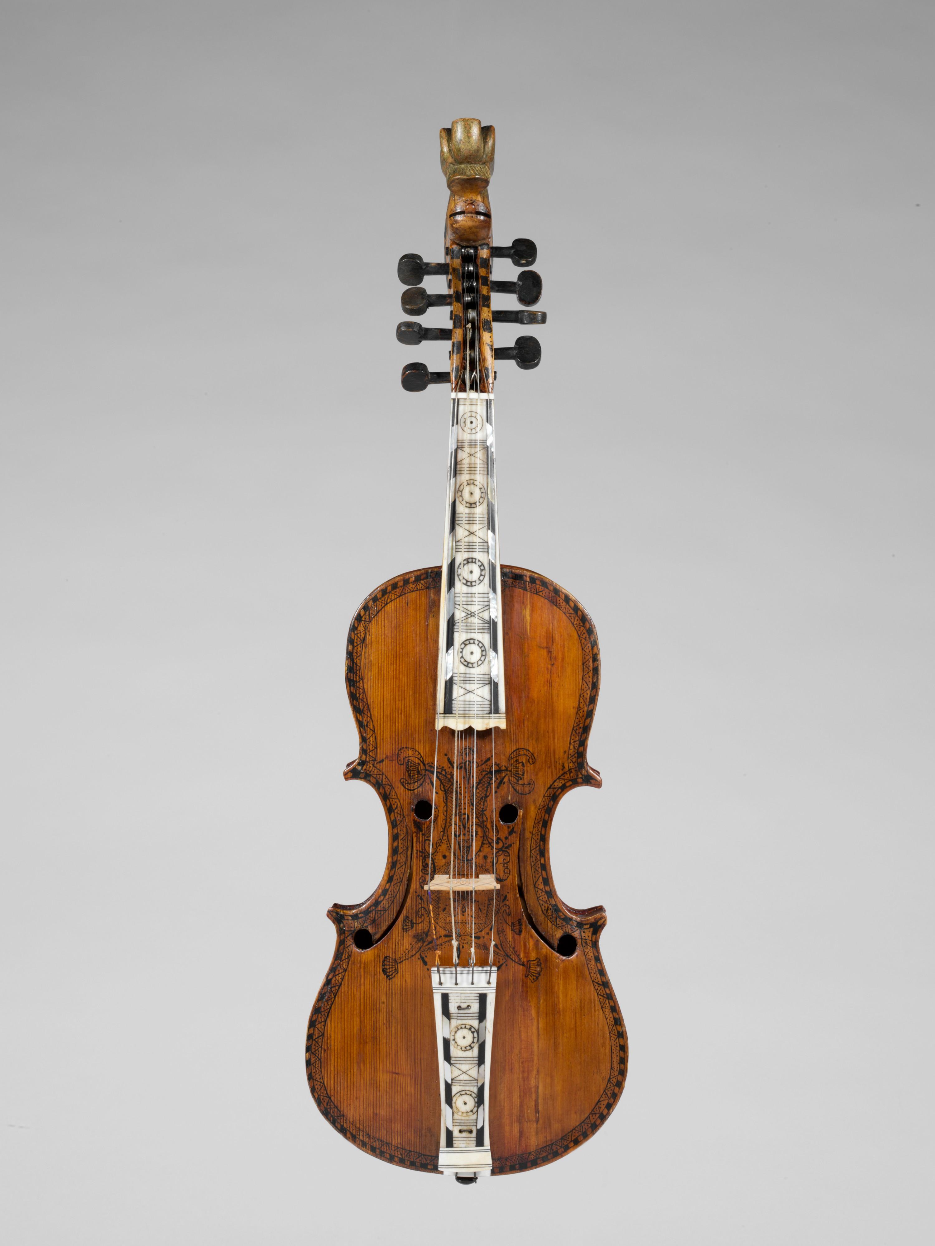 Hardanger Fiddle Norwegian The Met