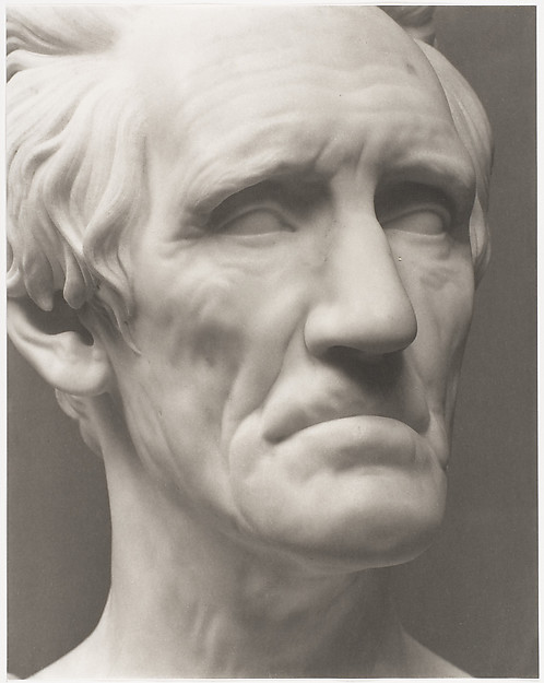 Andrew Jackson by Hiram Powers, 1837