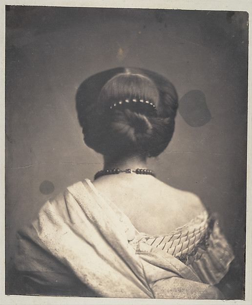 [Woman Seen from the Back]