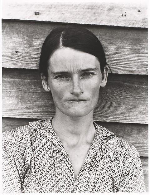 """After Walker Evans: 4"", Sherrie Levine (1981) link del Metropolitan Museum of Art"