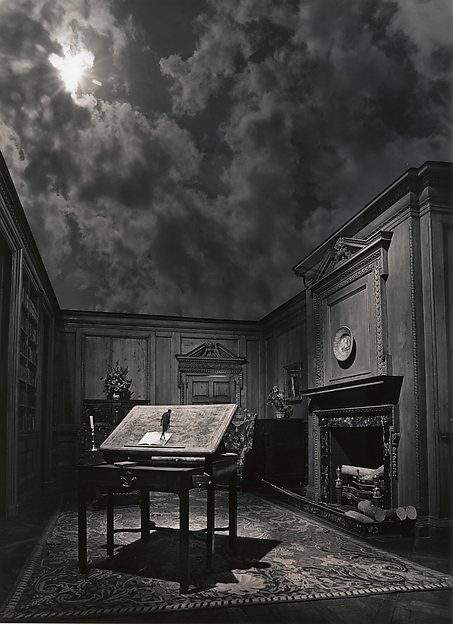 Untitled, Jerry N. Uelsmann, 1976, copia de 1980. David Hunter McAlpin Fund, 1981. © Jerry N. Uelsmann