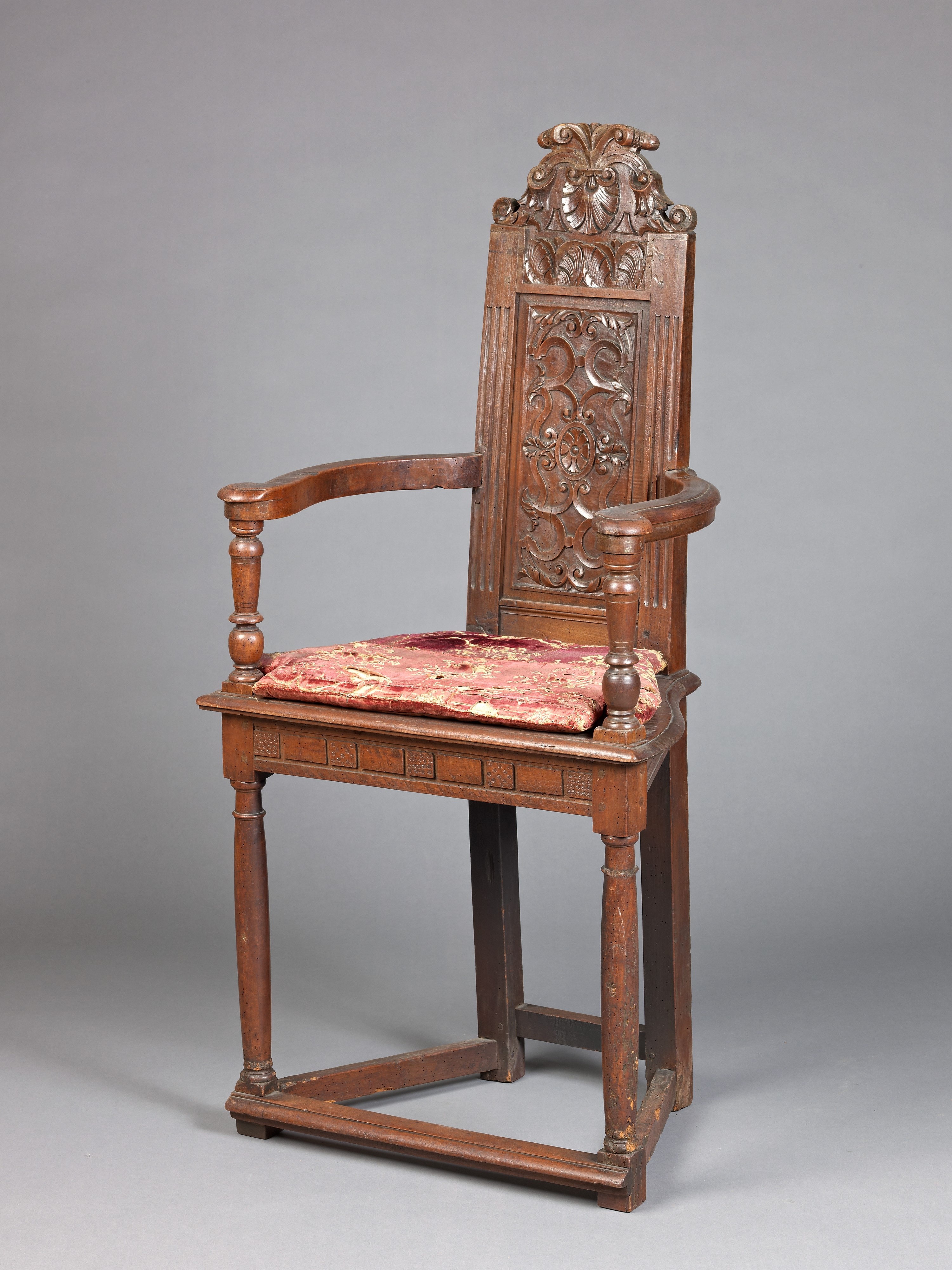 Armchair Caquetoire French The Met