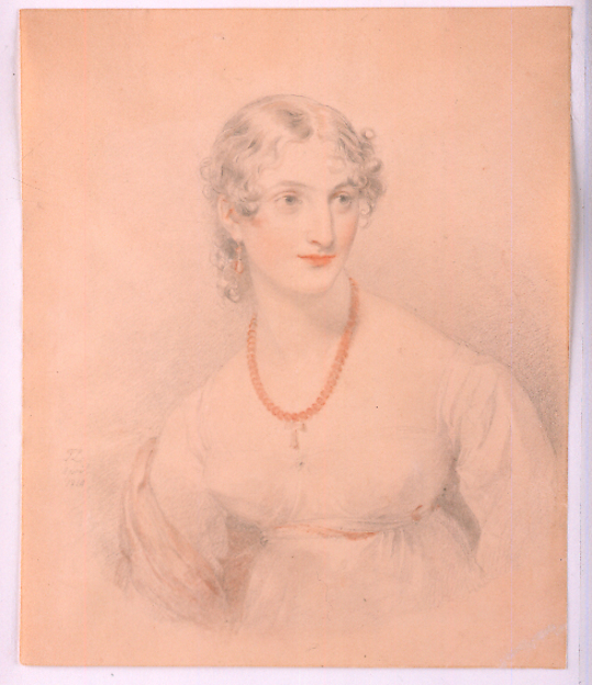 Portrait of a Young Lady with an Amber Necklace