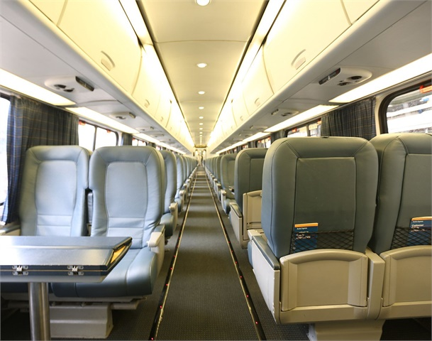 Amtrak Train Interior