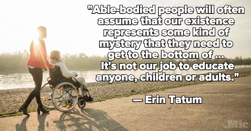 Poster of Erin Tatum Quote
