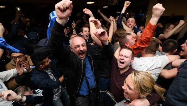 Football : explosion de joie en Angleterre après l'exploit de Leiceister -  midilibre.fr