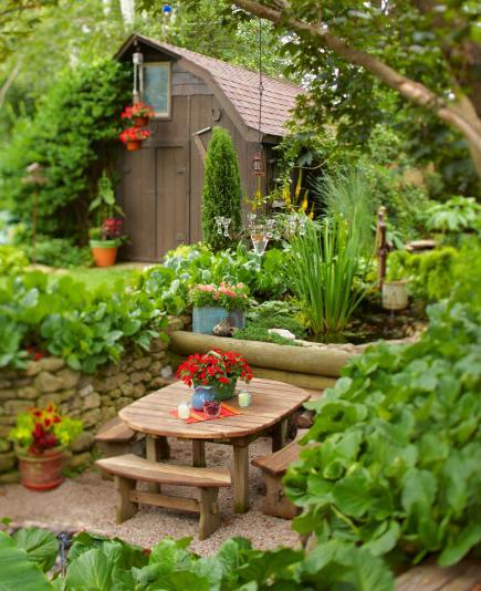 35 Beautiful Backyards Midwest Living