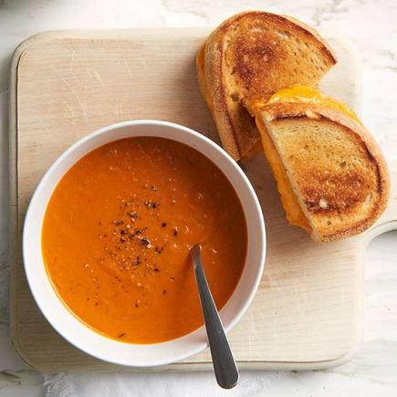 Smoky Roasted Tomato Bisque