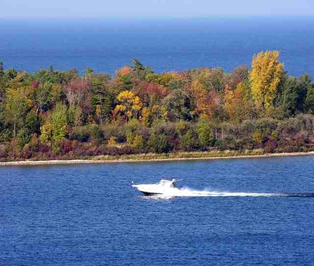 Boating In Door County Wisconsin