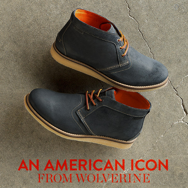 the chukka boot from wolverine more