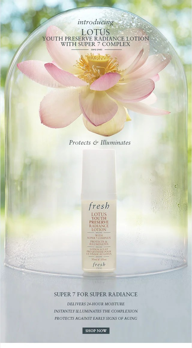 Preserve Lotion Radiance Youth Lotus