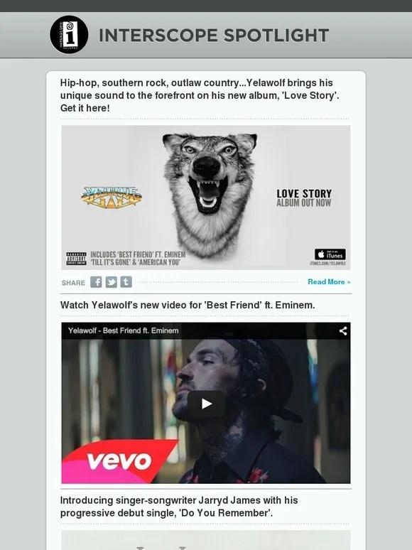 Yelawolf Love Story Tracklist
