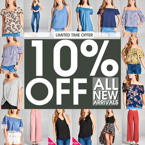 599Fashion  New Restocked Popular Items   10  OFF New Arrivals    Milled DONT FORGET  TAKE EXTRA 10  OFF ALL NEW ARRIVALS use code  EXTRA10APR    OFFER EXPIRES 04 06 offer excludes all items already on SALE visit  599FASHION