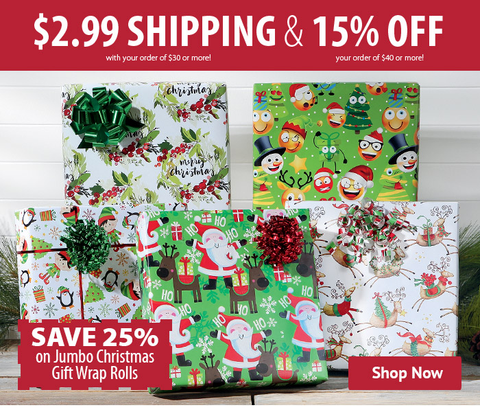 cur catalog wrap up the savings with 25 off jumbo milled